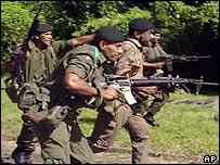 Fijian soldiers