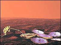 Beagle 2 (Image: European Space Agency)