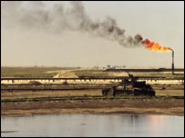 Kuwaiti oilfield