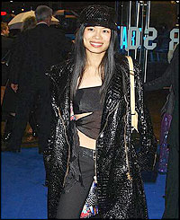 Vanessa Mae at a charity gala
