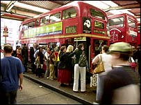 Bus queues