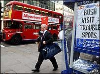 Calle en Londres