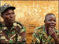 Soldiers in DR Congo