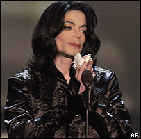 Michael Jackson seen at the Radio Music Awards on 27 October 2003
