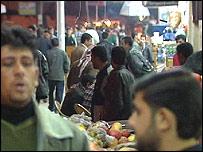 Mosul city centre marketplace