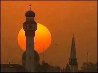 Mosul sunset