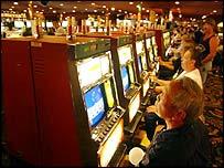 Gamblers in Las Vegas