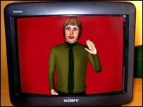 The 'virtual human' TV guide