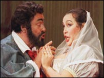 In Tosca with Ines Salazar