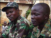 DR Congo soldiers