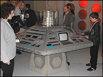 Fans inside the Tardis