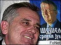 Serbian Radical Party presidential candidate Tomislav Nikolic
