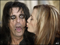Alice Cooper and wife Sheryl