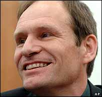 Armin Meiwes on the first day of his trial
