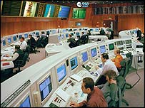 Esoc control room (European Space Agency)