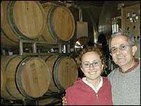 Silvia Altare with father Elio