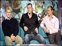 Josh Lewsey, Will Greenwood and Matt Dawson