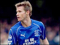 Brian McBride has Premiership experience with Everton