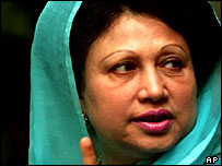 Bangladeshi premier Khaleda Zia