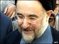 Iranian President Mohammed Khatami