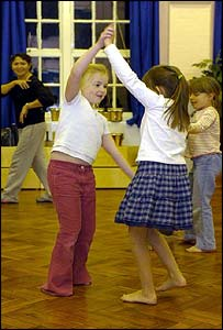 Celebration time at Wellington's after-school dance club