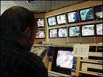 CCTV screens