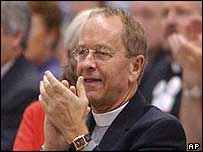The Bishop of New Hampshire, Gene Robinson
