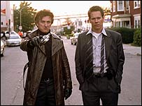 Sean Penn (left) and Kevin Bacon in Mystic River