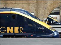 GNER train
