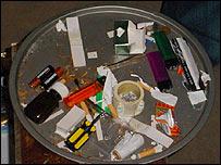 Drugs paraphernalia