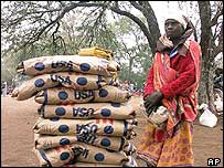 Food aid delivered to Zimbabweans
