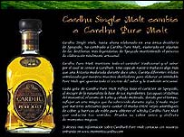 Cardhu advert