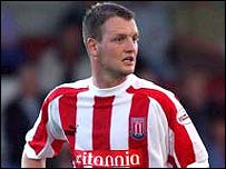 Stoke City defender Clint Hill