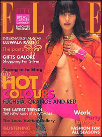 Cover of Indian Elle magazine