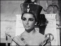 Elizabeth Taylor as Cleopatra