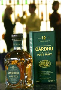 Cardhu's new packaging