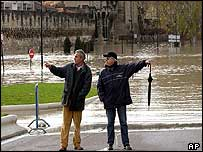 Flooding in Avignon
