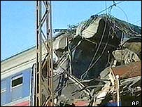 Russia train blast