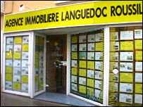 Estate agent in Ceret France