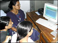 Computer users in Bangladesh