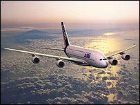 Airbus A380 passenger jet, Airbus