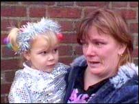 Karen Dyer and her daughter