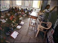 Indian classroom
