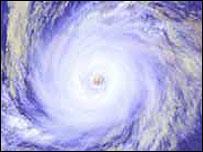 Imagen de huracán