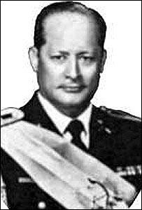 Ex presidente de Guatemala, Carlos Arana Osorio.