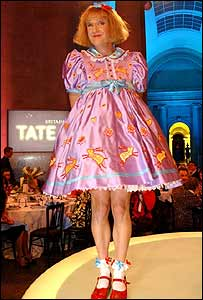 Grayson Perry at Turner Prize ceremony