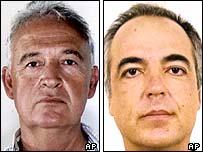 Alexandros Giotopoulos and Dimitris Koufodinas