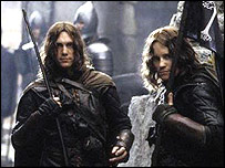 Royd Tolkien (left) in Return of the King
