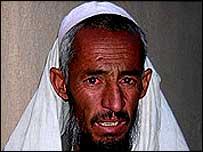 Afghan villager Sarwar Khan