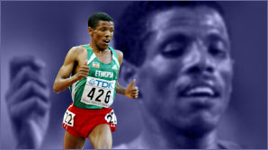 Haile Gebrselassie reveals all to the Academy